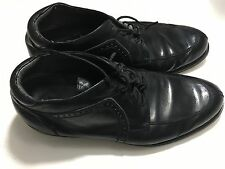 Vintage Mens FRATELLI Black Leather Ankle Boot Size 10
