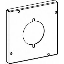 Orbit 5507 5 Inch Square Industrial Cover Power Outlet 2.13 Inch