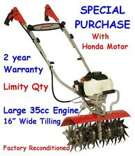 Mantis Tiller 7566 XP Deluxe 4-Cycle Honda - Same Day Ship In Sealed Box