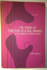 The Theory of Functions of a Real Variable: Vols 1 & 2, Hobson, 1957, Dover