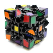 Black Pro New Gear 3x3 Pyramid Speed Magic Cube Twist Puzzle Toy Christmas Gift