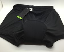 Realtoo Women 3D Padded Cool Max Bicycle Underwear Shorts Black Large Training