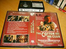 Betamax *THE COTTON CLUB* 1984 Oz K-Tel RARE 1st Issue Blockbuster - Beta Tape