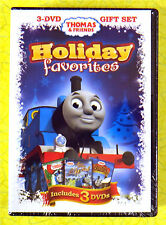 Thomas & Friends: Holiday Favorites (DVD, 2011, 3-Disc Set) New Sealed Christmas
