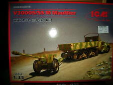 1:35 ICM V3000S/SS M Maultier with 7,62 cm Pak 36 (r) OVP