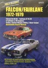 MAX ELLERYS REPAIR MANUAL FORD FALCON FAIRLANE XA XB XC