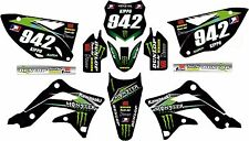 KXF 450 2012-2015 Monster graphic/decal kit PERSONALISED FREE UK SHIPPING