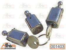 LOT de 3 BARILLETS NEUFS (BARRELS) pour portes de Citroen DYANE ACADIANE  -1403-