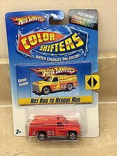 Hot Wheels Rescue Ranger Color Shifters Rescue Truck