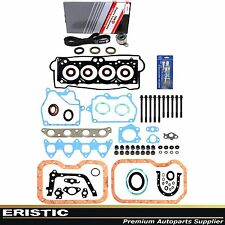 FULL GASKET HEAD BOLTS TIMING BELT KIT 7AFE 93-97 1.8L TOYOTA COROLLA