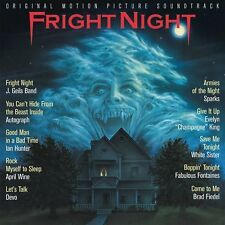 FRIGHT NIGHT Brad Fiedel CD PERSEVERANCE Score SOUNDTRACK J Geils Band Devo NEW!