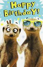 Funny Simples Happy Birthday Card Humour Greeting Cards Beast Wishes Range