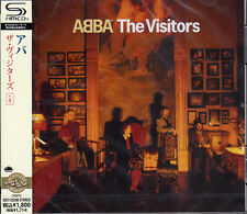 ABBA-THE VISITORS +4-JAPAN SHM-CD D50