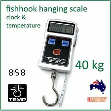 Fishhook Digital Hanging Luggage Clock Scale 50KG/20gm