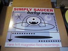 EP:  SIMPLY SAUCER - Baby Nova NEW UNPLAYED BROWN MARBLE PROTO PUNK PSYCH