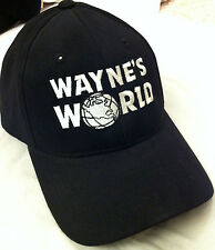 Waynes World Hat Halloween Costume Party On Wayne Campbell Wayne's suit up cap