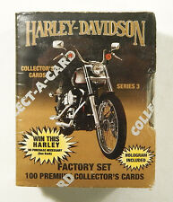 1993 Collect-A-Card Harley-Davidson Series 3 Collector Cards Factory Set (100)