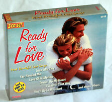 CD READY FOR LOVE - Most beautiful Love Songs - Modern Love System - 3CD-Box