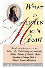 What to Listen for in Mozart-ExLibrary