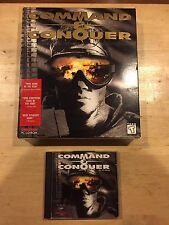 Command and Conquer Big Box PC game 1995 L@@K!!