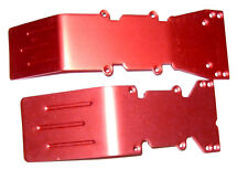 T-Maxx and E-Maxx Red  Anodized Skid Plate Set