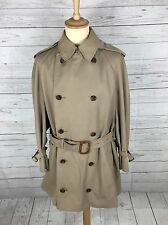 "Mens Aquascutum Raincoat/Mac - Xl 48"" - Bespoke Short - Beige - Great Condition"