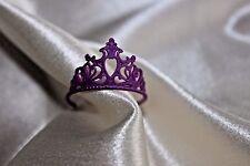 Barbie doll purple crown tiara princess beauty pageant