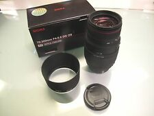 NEW SIGMA 70 -300MM F 4-5.6 DG OS SLD BUILT IN MOTOR DRIVE NIKON MOUNT