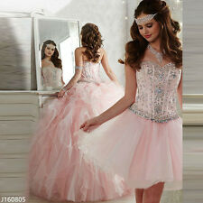 Amazing Pink Quinceanera Dresses Detachable Skirt 2 Piece Prom Party Ball Gowns