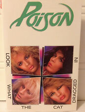 Poison / Look What the Cat Dragged In Near Mint CASSETTE (1986) ROCK XDR