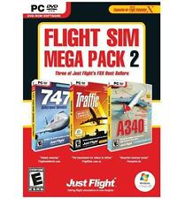 Flight Sim Mega Pack 2 - MS FSX Expansion Pack - PC DVD by Just Flight