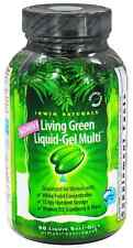 Irwin Naturals Living Green Liquid-Gel WOMEN'S MULTI Female Vitamin 90 Softgels