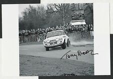 TONY MASON ROGER CLARK RAC RALLY 1974 FORD ESCORT RS1600 MkI SIGNED PHOTOGRAPH