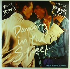 """12"""" Maxi - David Bowie - Dancing In The Street - M778 - washed & cleaned"""