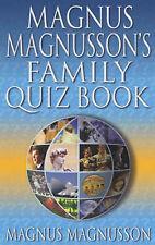 Magnus Magnusson's Family Quiz Book, Magnus Magnusson