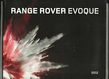 RANGE ROVER EVOQUE eD4, TD4, SD4 AND Si4 PRESTIGE SALES BROCHURE 2011 2012
