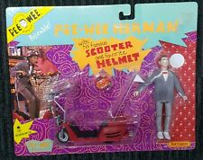 Pee wee herman and scooter action figure pee wee's playhouse 1988 matchbox