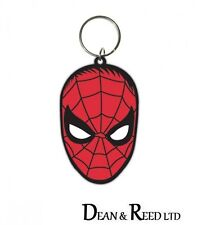 *NEW* MARVEL COMICS Spiderman (Face) RUBBER KEYRING / KEYCHAIN BY PYRAMID