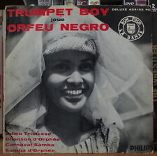 TRUMPET BOY JOUE ORFEU NEGRO CHEESECAKE COVER FRENCH EP PHILIPS 1959