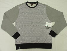 $46 NWT NEW Mens Enyce Native Tongue Geo Print Sweatshirt Grey Urban Sz XL L068