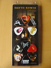Badge: David Bowie : Set of 12 Iconic Image Plectrums : Sealed