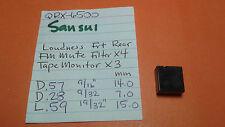 SANSUI QRX-6500 PUSH BUTTON SWITCH CAPS KNOB