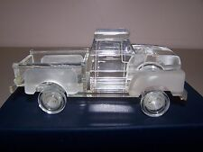 1956 Ford F-100 Crystal Sculpture Pickup Truck  new collectibles