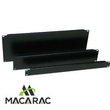 "2RU BLANK / FILLER PANEL (19"" Inch Rack-Mount Application / Steel)"
