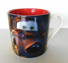 Mug - Disney Store Fine China Mug - Cars Lightining Mcqueen Mater 2011 ~