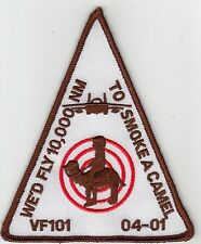 VF-101 GRIM REAPERS CLASS 04-01 TO SMOKE A CAMEL SHOULDER PATCH