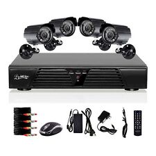 8CH Channel CCTV Full D1 H.264 DVR For Security System Kit 600TV Camera Night