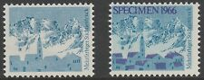 Switzerland (1662) 1966 Alpine Scene MACHINE TRIAL PROOFS unmounted mint