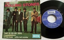 "7"" EP The Rolling Stones - Time Is On My Side DECCA DFE 461.210 EX UK PIC SLV"