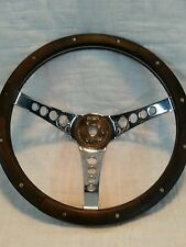 "Superior Performance Products The  ""500"" steering wheel Walnut wood 13 1/2"""